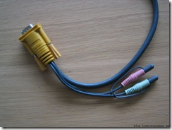 switch side of kvm cable