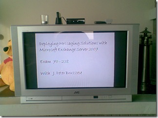 WD TV HD Mediaplayer in combination with an old JVC television