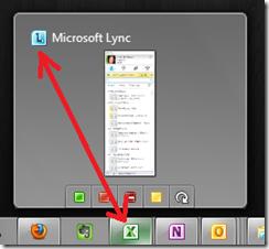Lync Taskbar Icon